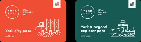 York Pass Two Passes flat